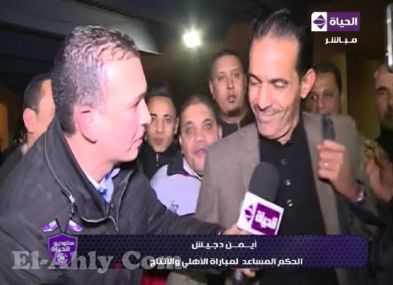 ايمن دجيش: اثنين من عمال الانتاج الحربي تعديا عليّ وطالبت الأمن بالتحفظ عليهما