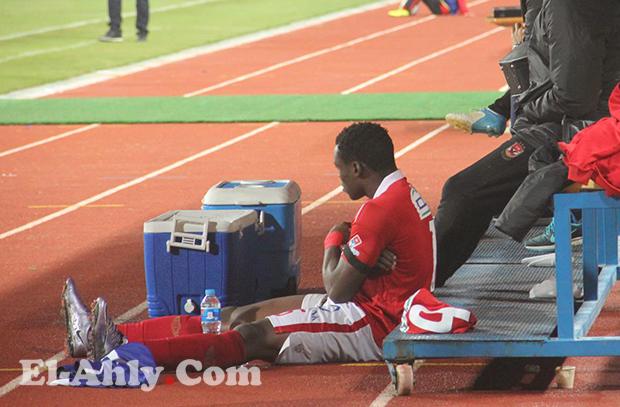 الأهلي يعلن موقف إيفونا بعد إصابته أمام المقاولون