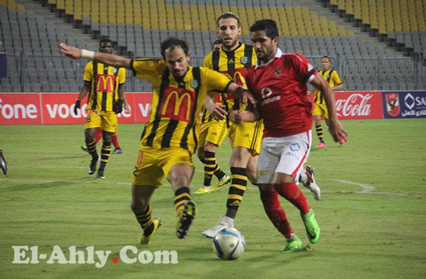 صالح جمعة يستمر على قمة لاعبي الأهلي بعد مباراة المقاولون