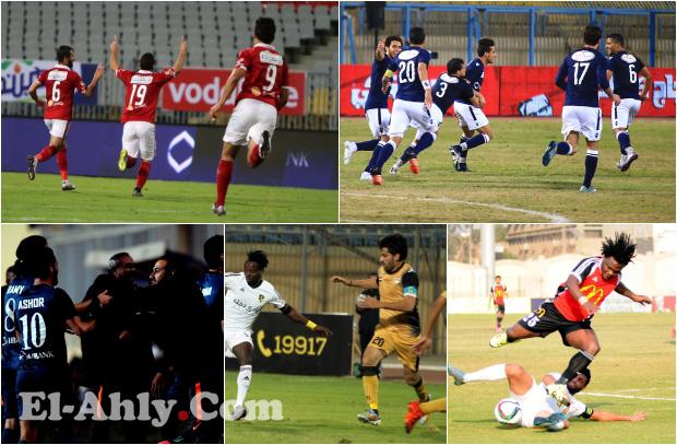 شاهد أفضل 5 أهداف بالجولة 15 بالدوري المصري