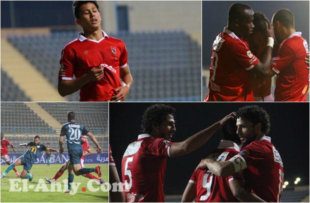"""شاهد """"بكاء"""" عمرو جمال بعد هدفه في مرمى عبد المنصف"""
