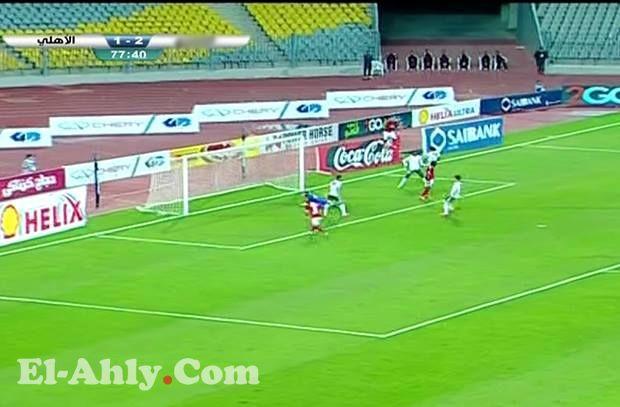 إيفونا يتعادل للأهلي من هدف بطله رمضان صبحي