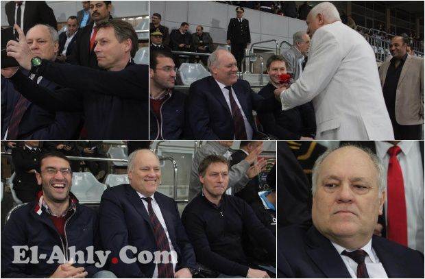 """شاهد مارتن يول يظهر بالـ""""وردة الحمرة"""" لأول مرة في الملاعب المصرية"""