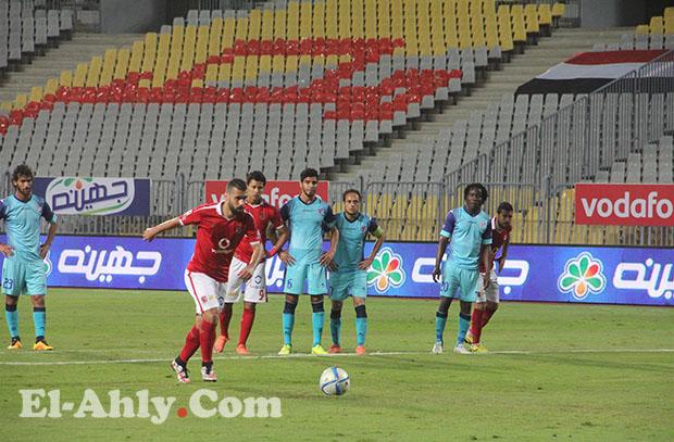 السعيد الأفضل وإيفونا الأسوء في تقييم محمد يوسف للاعبي الأهلي خلال مباراة بتروجيت