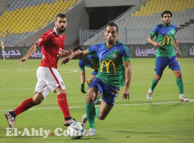 الانذار الثالث يحرم الأهلي من مجهودات عبد الله السعيد عن مباراة الكاس