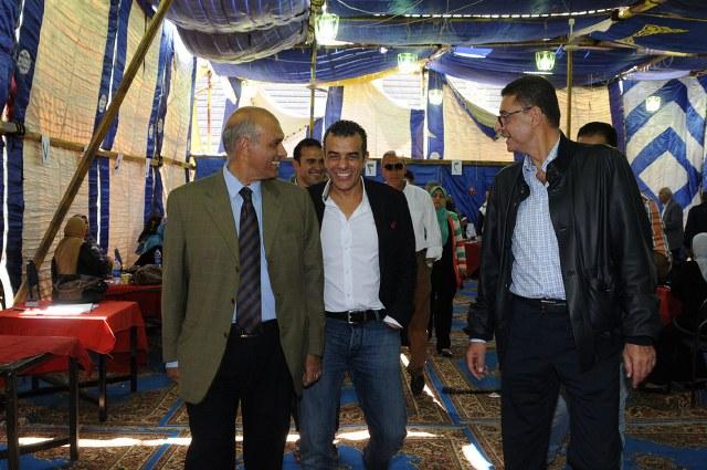 خالد مرتجي ينفي التحالف مع محمود طاهر