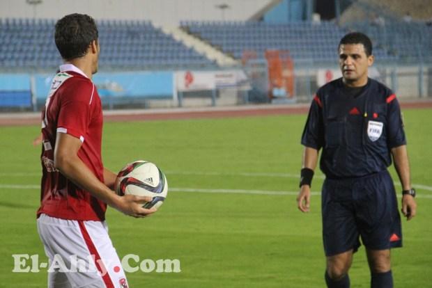 محمد فاروق يحكم مباراة الأهلي وإنبي