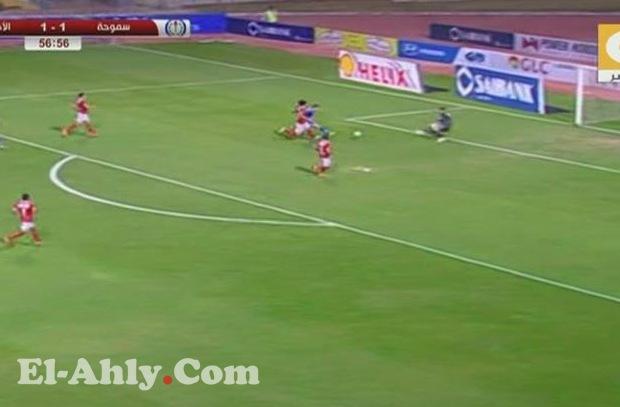 لقطة المباراة .. تصدي إكرامي لحسام باولو