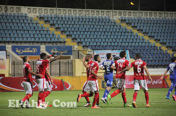 السعيد يسجل هدفه العاشر بالدوري ويتصدر قائمة هدافى النادي الأهلي