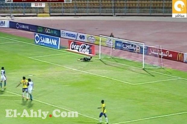 صاروخ فتحي يمزق شباك منصف ويفتتح أهداف الجولة 28