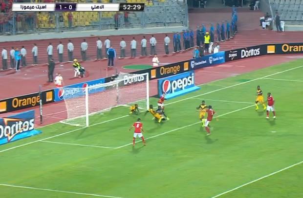 حجازي يشعل الملعب ويتعادل للنادي الأهلي