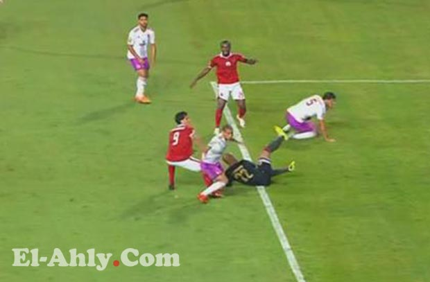 بطء عمرو جمال يحرمه من هدف بعد عرضية رحيل