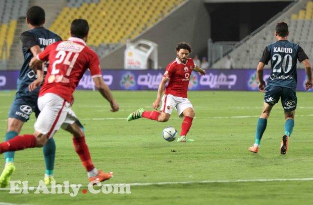 الموعد الرسمي والقنوات الناقلة لمباراة الأهلي وإنبي بنصف نهائي كأس مصر