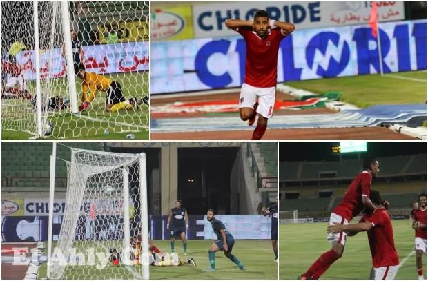"""احتفال مؤمن زكريا """"الشهير"""" وفرحة غالي في صور هدف التعادل ضد إنبي"""