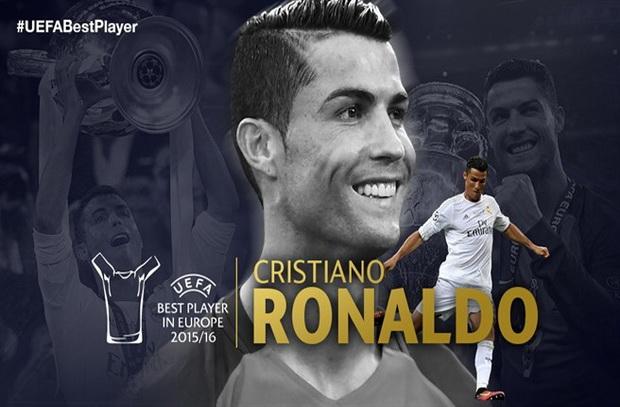 رونالدو أفضل لاعب أوروبي علي حساب بيل وجريزمان وهيجيربيرج أفضل لاعبة