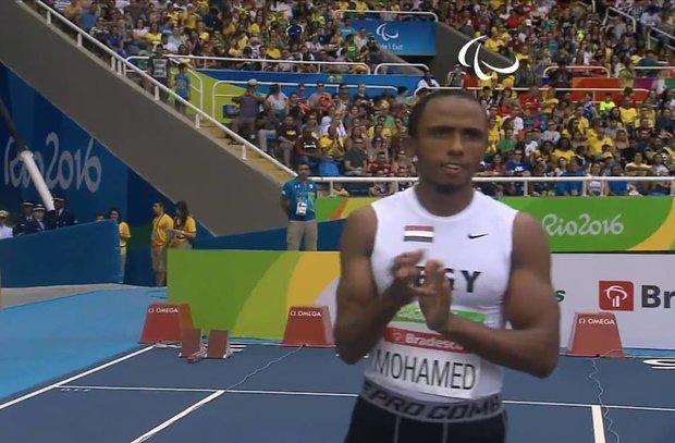 مصطفى فتح الله يحرز خامس الميداليات المصرية ويحصد فضية 100 متر عدو