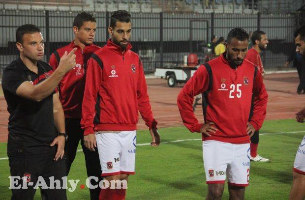 قائمة الأهلي لمواجهة الجيش .. الإستقرار على 20 لاعب وعودة حسين السيد