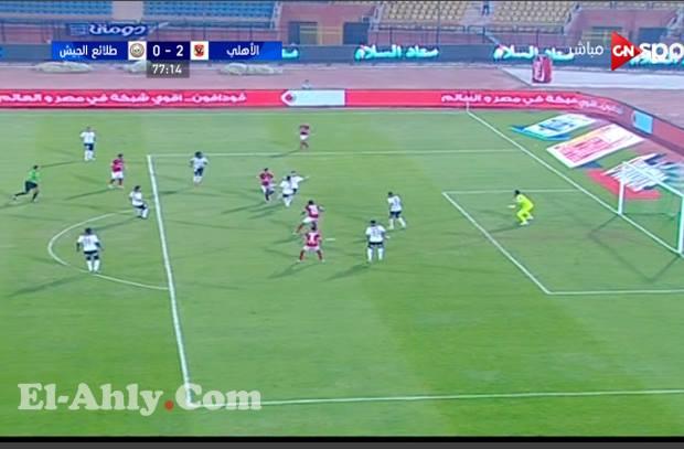 السعيد يضاعف النتيجة ويتفوق علي عماد السيد في لقطة مثيرة