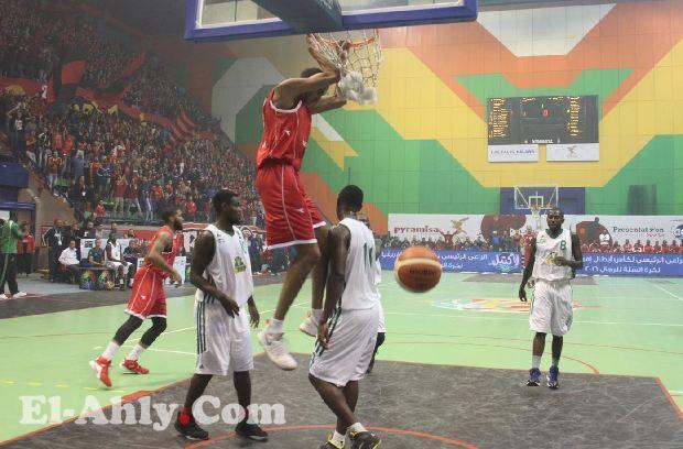 سلة الأهلي تحقق فوز سهل على بطل الكاميرون في إفتتاح بطولة أفريقيا