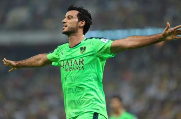 عمر السومة: سأحتفل على طريقة رونالدو إذا سجلت في برشلونة .. وسعيد باللعب جوار عموري