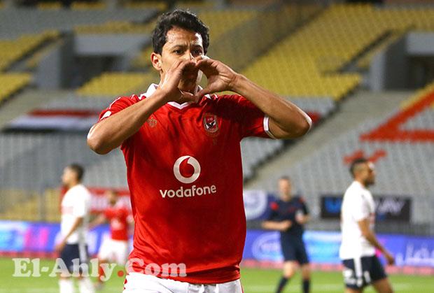 عمرو جمال يعود للتهديف بعد غياب 253 يوم