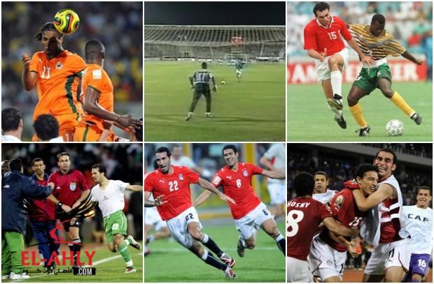 9 لقطات لا ينساها الجمهور المصري في بطولات أمم أفريقيا