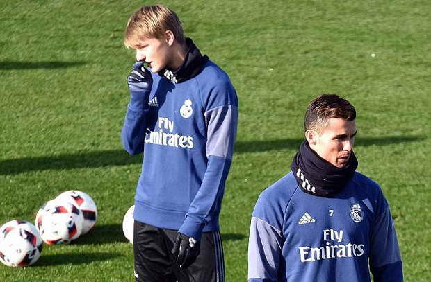 قنبلة ريال مدريد يرحل على سبيل الإعارة لـ18 شهر
