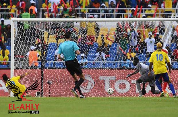 أوباميانج يفتتح أهداف أمم إفريقيا 2017 أمام غينيا
