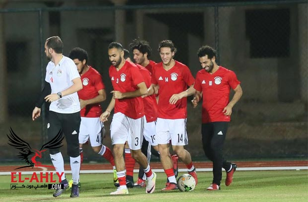 """حقيقة """"الاشتباك"""" بين لاعبي منتخب مصر ومنتخب غانا بالجابون"""