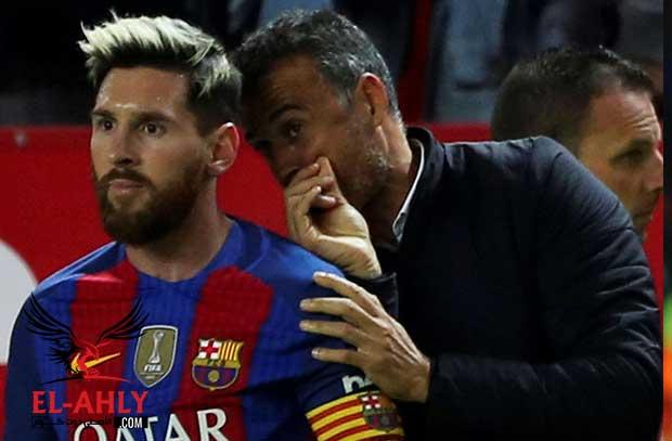 ميسي يقود ثورة ضد إنريكي في برشلونة ويقود مفاوضات عودة جوارديولا