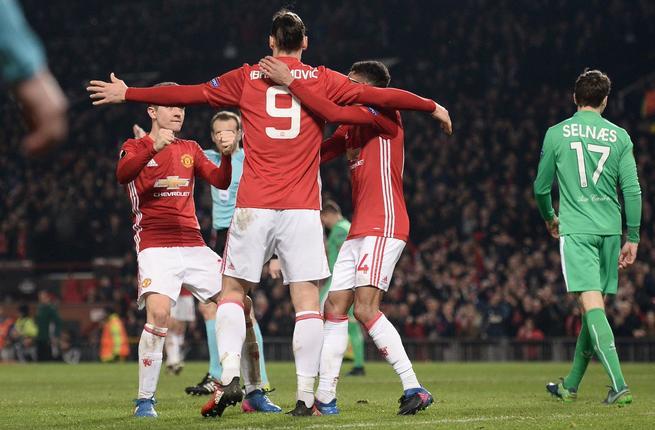 مانشستر يونايتد يفوز علي سانت ايتيان بهدف نظيف ويتابع طريقه بالدوري الاوروبي