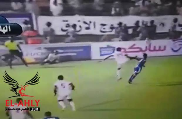 اعتداء مروع في دوري ابطال افريقيا ضد لاعب الهلال السوداني