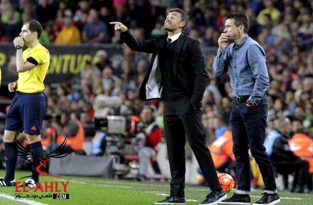 نجوم برشلونة يساندوا هذا المدرب لخلافة انريكي