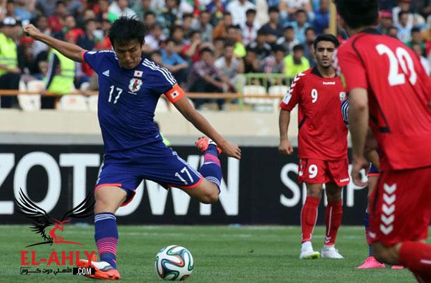 قائد اليابان يضحي بمستقبله من أجل منتخب بلاده