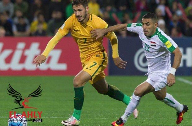 العراق يفرض تعادل إيجابي على أستراليا بتصفيات كأس العالم