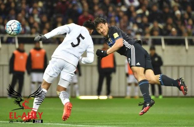 اليابان تقبض على صدارة المجموعة الثانية بتصفيات كأس العالم