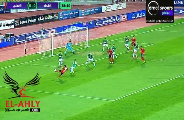 فرصة هدف عالمي .. التوفيق يمنع سليمان من احد اجمل اهداف الموسم