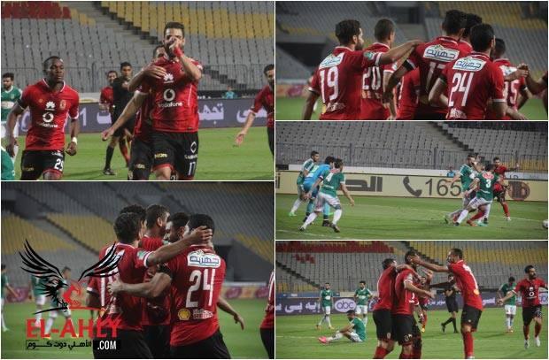 """شاهد السولية يحتفل بطريقة """"عائلية"""" بعد أول أهدافه بمرمى الإتحاد"""