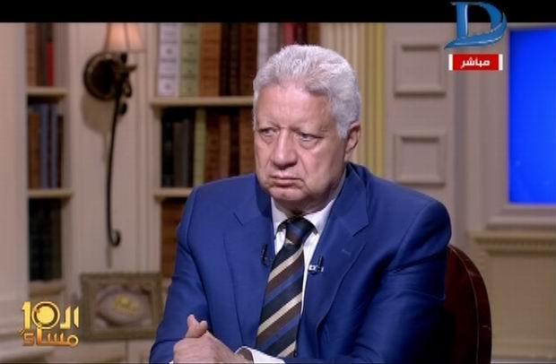 مرتضى منصور: رفضنا تعيين عبد الحليم علي لأنه اخوان والشبكة ستفتح