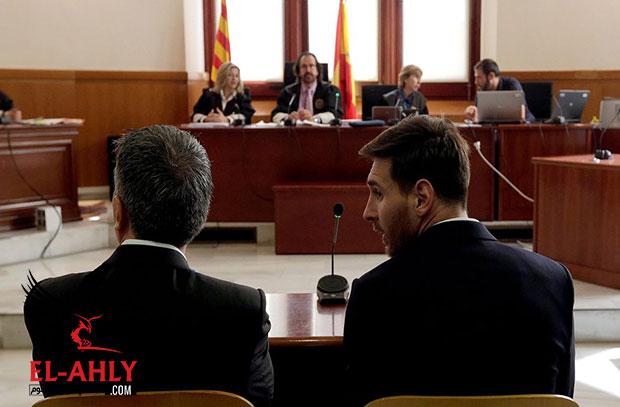 قبل الكلاسيكو .. النيابة الأسبانية تطالب بتأكيد عقوبة سجن ميسي