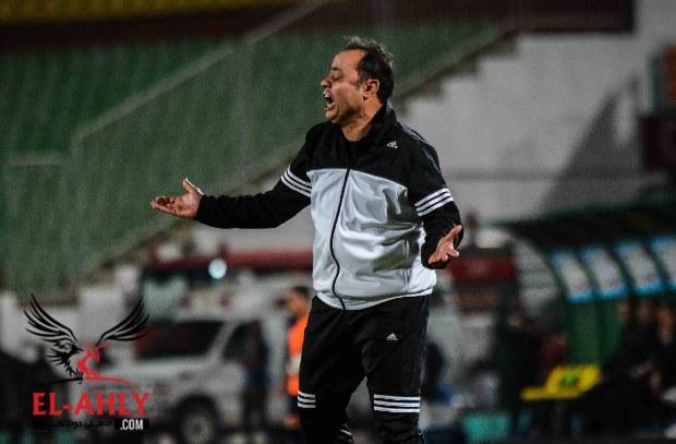"""شاهد """"إنهيار"""" طارق يحيى بعد هدف ميدو في الدقيقة 95"""