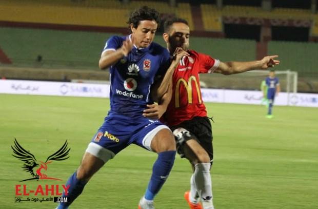 محمد هاني يتخلف عن السفر مع فريق الأهلي للإسكندرية