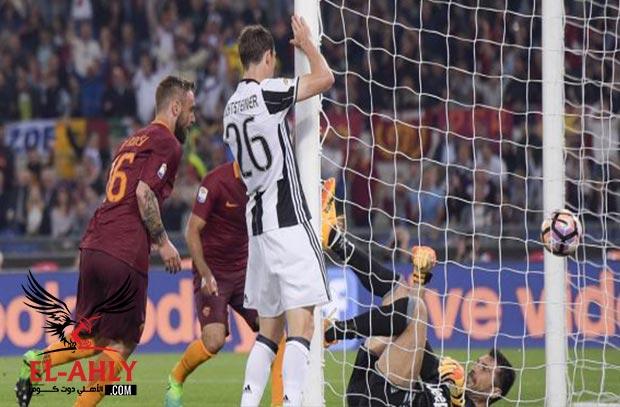 صلاح يصنع هدف في فوز روما على يوفنتوس بثلاثية