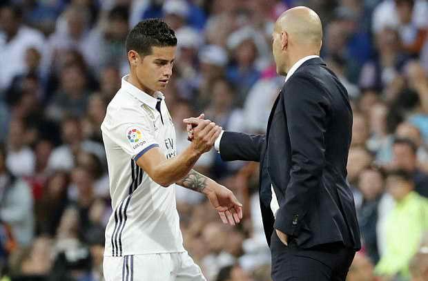إعلان ريال مدريد عن رحيل رودريجيز بعد نهائي دوري الأبطال أمام يوفنتوس
